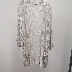 Free people long woven coverup